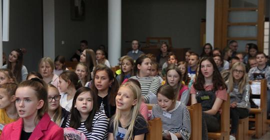 Nasze dzieci na Oazie Modlitwy w Żyrardowie