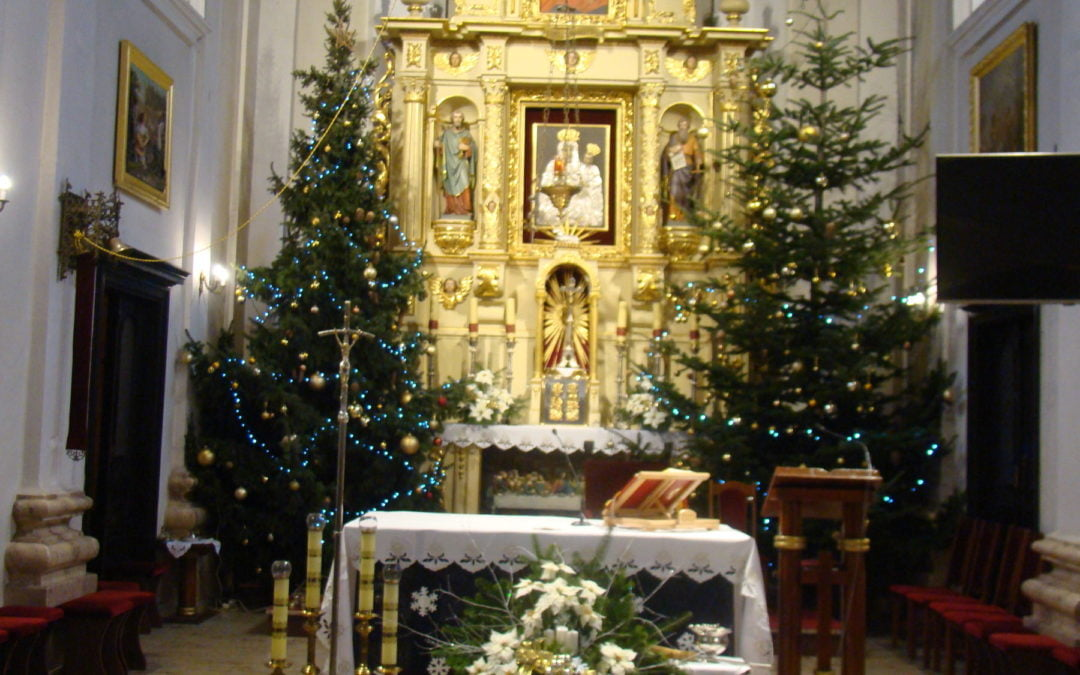 Msze święte podczas świąt Bożego Narodzenia
