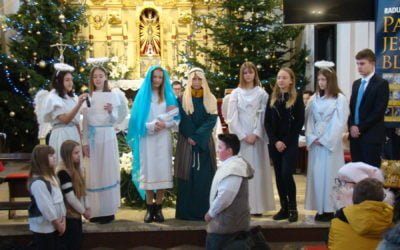 Jasełka Bożonarodzeniowe dzieci z Dmosina