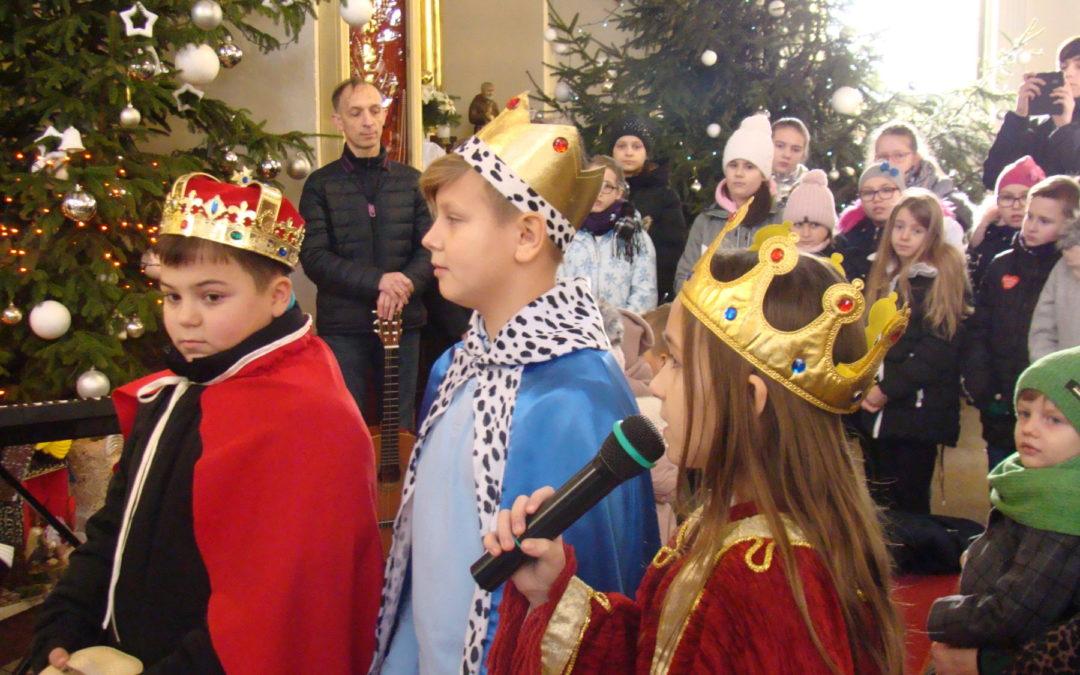 Jasełka Bożonarodzeniowe dzieci z Lubiankowa
