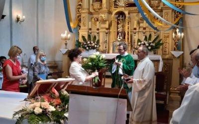 Pożegnanie księży pracujących w naszej parafii